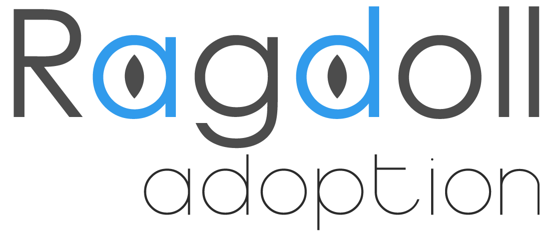 Ragdoll Adoption Logo